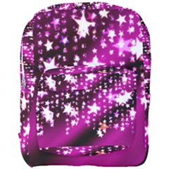 Background Christmas Star Advent Full Print Backpack