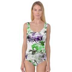 Horse Horses Animal World Green Princess Tank Leotard