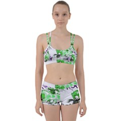 Horse Horses Animal World Green Women s Sports Set by BangZart