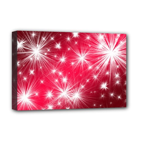 Christmas Star Advent Background Deluxe Canvas 18  X 12   by BangZart