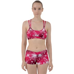 Christmas Star Advent Background Women s Sports Set