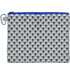 Geometric Scales Pattern Canvas Cosmetic Bag (xxxl)