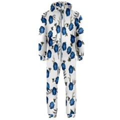 Blue Roses Hooded Jumpsuit (men)  by jumpercat