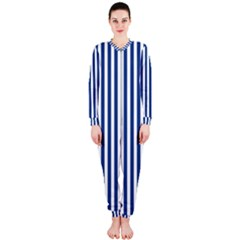 Blue Stripes Onepiece Jumpsuit (ladies)