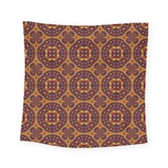 Geometric Pattern Square Tapestry (small) by linceazul