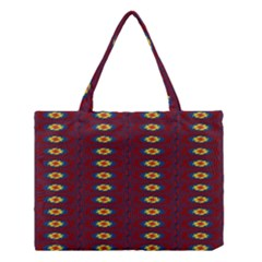 Geometric Pattern Medium Tote Bag by linceazul