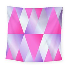 Gradient Geometric Shiny Light Square Tapestry (large) by BangZart