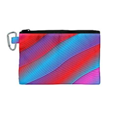 Diagonal Gradient Vivid Color 3d Canvas Cosmetic Bag (medium) by BangZart