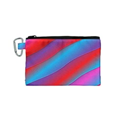 Diagonal Gradient Vivid Color 3d Canvas Cosmetic Bag (small) by BangZart