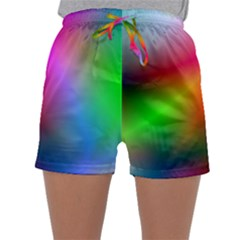 Course Gradient Background Color Sleepwear Shorts