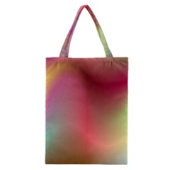 Colorful Colors Wave Gradient Classic Tote Bag by BangZart