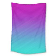 Background Pink Blue Gradient Large Tapestry by BangZart