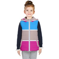 Pattern Template Banner Background Kid s Puffer Vest