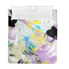 Watercolour Watercolor Paint Ink Duvet Cover Double Side (full/ Double Size)