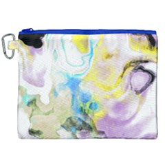 Watercolour Watercolor Paint Ink Canvas Cosmetic Bag (xxl) by BangZart