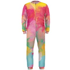 Watercolour Gradient Onepiece Jumpsuit (men)