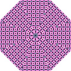 Pattern Pink Squares Square Texture Straight Umbrellas by BangZart