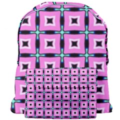 Pattern Pink Squares Square Texture Giant Full Print Backpack