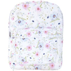 Floral Pattern Background Full Print Backpack