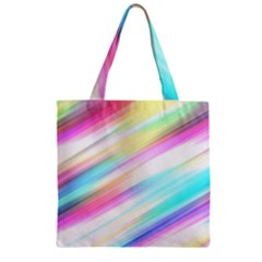 Background Course Abstract Pattern Zipper Grocery Tote Bag by BangZart