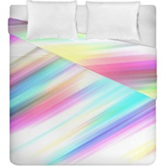 Background Course Abstract Pattern Duvet Cover Double Side (king Size)