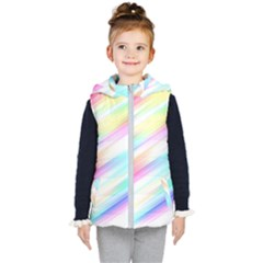 Background Course Abstract Pattern Kid s Puffer Vest