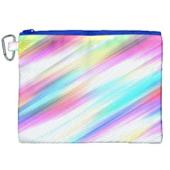 Background Course Abstract Pattern Canvas Cosmetic Bag (xxl)