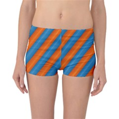 Diagonal Stripes Striped Lines Reversible Boyleg Bikini Bottoms
