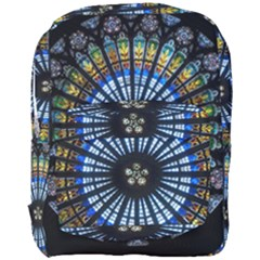 Rose Window Strasbourg Cathedral Full Print Backpack