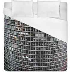Skyscraper Glass Facade Offices Duvet Cover (king Size)