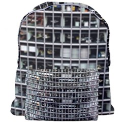 Skyscraper Glass Facade Offices Giant Full Print Backpack