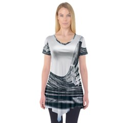 Architecture Modern Skyscraper Short Sleeve Tunic