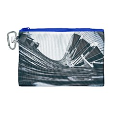 Architecture Modern Skyscraper Canvas Cosmetic Bag (large) by BangZart