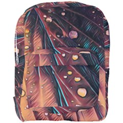 Abstract Wallpaper Images Full Print Backpack
