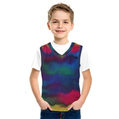 Watercolour Color Background Kids  Sportswear