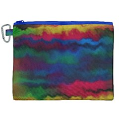 Watercolour Color Background Canvas Cosmetic Bag (xxl)