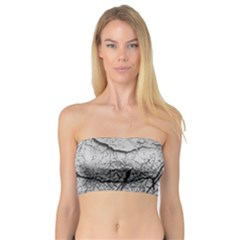 Abstract Background Texture Grey Bandeau Top