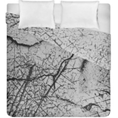 Abstract Background Texture Grey Duvet Cover Double Side (king Size)