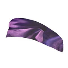 Shiny Purple Silk Royalty Stretchable Headband