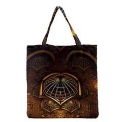 Fractal 3d Render Design Backdrop Grocery Tote Bag
