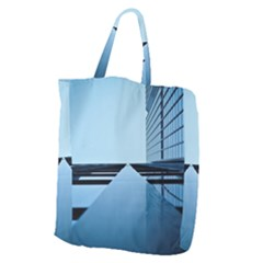 Architecture Modern Building Facade Giant Grocery Zipper Tote