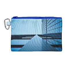 Architecture Modern Building Facade Canvas Cosmetic Bag (large)