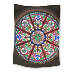 Church Window Window Rosette Medium Tapestry