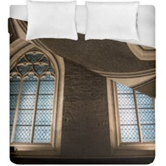 Church Window Church Duvet Cover Double Side (king Size)
