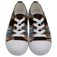 Church Window Church Kids  Low Top Canvas Sneakers