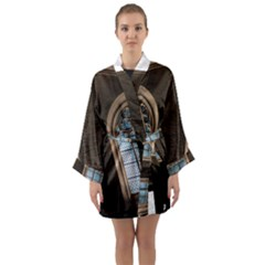 Church Window Church Long Sleeve Kimono Robe
