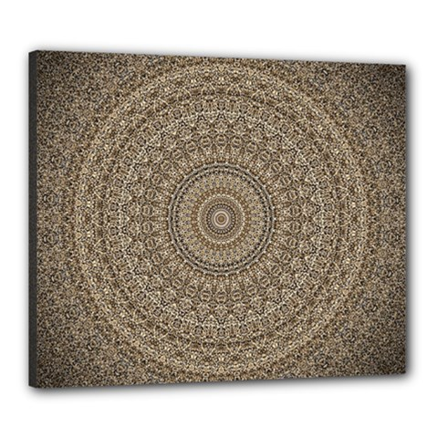 Background Mandala Canvas 24  X 20
