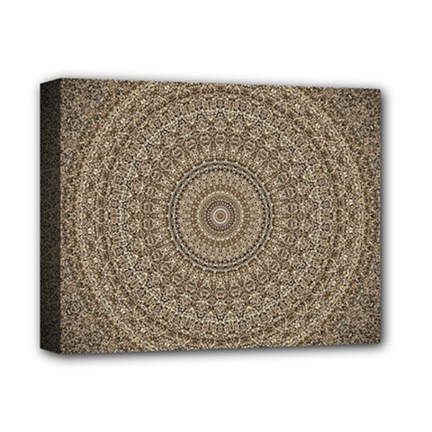Background Mandala Deluxe Canvas 14  X 11