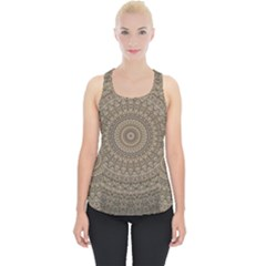 Background Mandala Piece Up Tank Top