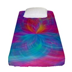 Abstract Fantastic Fractal Gradient Fitted Sheet (single Size)